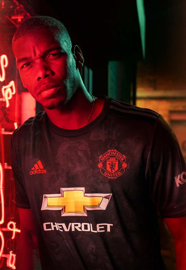adidas Launch Manchester United 2019/20 Third Shirt ...