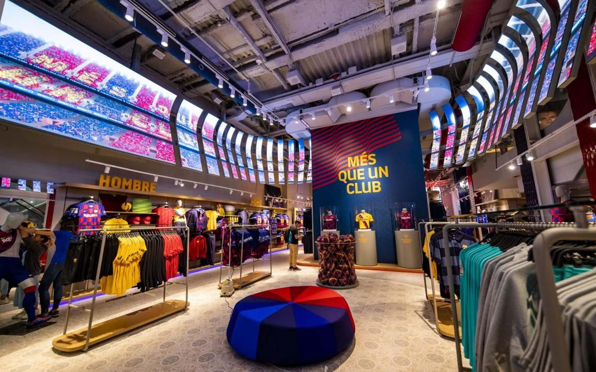 suma enfermedad Intolerable  Barcelona Open New Club Store On La Rambla - SoccerBible